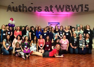Wicked Book Weekend 2015 authors. Recognize any of your favs?